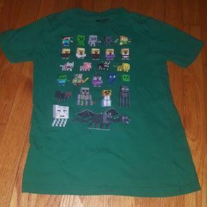 Boys Minecraft t-shirt